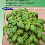 Basil, Sweet Large leaved