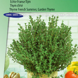 Thyme French SummerGarden Thyme (Thymus vulg )
