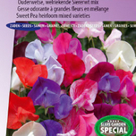 Sweet pea Old Sweet Scent (Heirloom varieties)