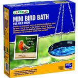 Mini bird bath enamelled in box