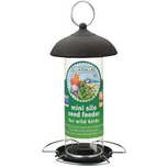 Mini Silo Feeder Seed (Galv/Black)