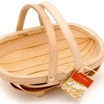 Budding Gardener Children's Wooden Trug - Burgon and Ball