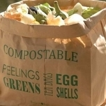 Compostable Kitchen Waste Bin Liners - Burgon and Ball
