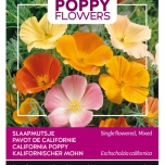 Poppies of the world – Eschscholtzia calif. Single Mixed