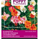 Poppies of the world – Eschscholtzia Californica Semi-Double Mixed