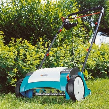 electric lawn aerator evc 1000 gardena for sale buy. Black Bedroom Furniture Sets. Home Design Ideas