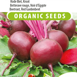 Beetroot, Red Gardenbeet Egyptian flat round EKO