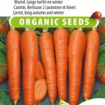 Organic Carrot Berlikumer 2 (Long Autumn and Winter)