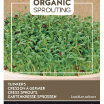 Organic Sprouting Cress Sprouts - Buzzy